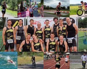 Triathloncollage